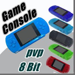 Jeu vidéo 2.7 en Ligne-Lecteur de jeu AAA PVP Station Light 3000 (8 bits) 2,7 pouces LCD Écran PVP3000 Console de jeu vidéo de poche Console de jeu portable mini C-ZY