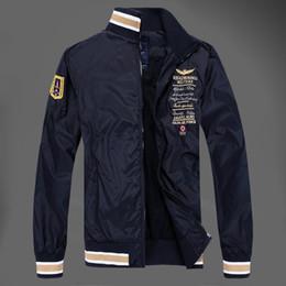 épaulettes mens d'hiver Promotion Mode Hommes Casual Epaulet Vestes Manteaux Automne Hiver Badge Broderie Coupe-Vent Vestes Homme Marque Vest