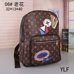 Wholesale Arrival Check - hot Sell New Arrival Fashion Women School Bags Hot Punk style Men Backpack designer Backpack PU Leather Lady Bags #44424
