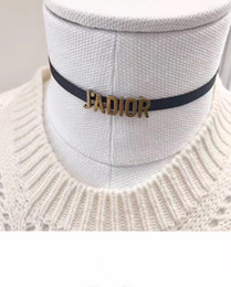 Wholesale Twisted Woman Necklace - Jadior choker for lady Cd BRAND Logo Fashion Design Women Party Wedding Brooches D-logo Luxury Imitation Jewelry With BOX