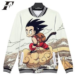 d99783eb38dc 2018 New 3D Anime Baseball Jackets Women Men Couple s Kpop Hip Hop Japan  Style Cartoon Autumn