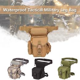 Wholesale Nuevo LEORY Hombres Nylon Hip Cinturón de Gamuza Riñonera Riñonera Impermeable Militar Tactical Bag Outdoor Camera Phone Storage colores
