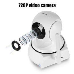2019 проволока для мини-кулачков Новый Дом Безопасность Беспроводная Мини Ip-камера Камеры Наблюдения Wi-Fi 720 P Ночного Видения Камеры ВИДЕОНАБЛЮДЕНИЯ Baby Monitor DHL Бесплатно