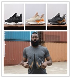Wholesale alpha red - new 2018 Kolor Alphabounce Beyond Boost 330 Running Shoes Alpha bounce Hpc Ams 3M Sports Trainer Sneakers Man Shoes With Box Size 7-11