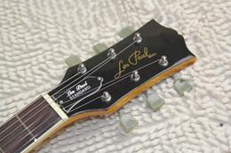2019 mejor guitarra hueca Envío gratis 2015 instrumento musical lp guitarra estándar p90 pickup personalizado 1956 slash goldtop guitarra eléctrica, se puede personalizar