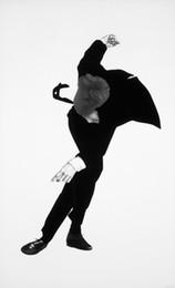 Argentina Robert Longo Art Works Men In The Cities Negro Blanco Dibujo Carteles artísticos de alta calidad Imprimir Papel fotográfico 16 24 36 47 pulgadas Suministro