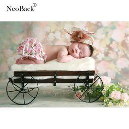 2019 фото фоны для весны NeoBack Весна зеленый цветочный тонкий винил фонов фото фоны новорожденного ребенка Фото фонов ребенок фотоколл студия фон дешево фото фоны для весны