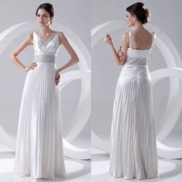 cca2ae91c9c Distribuidores de descuento Vestido Plisado Cuello Blanco V ...