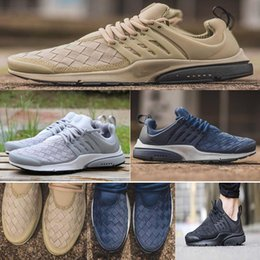 Wholesale Woven Casual Shoes - 2018 New Presto SE Woven Women Youth Men Running Shoes High Quality Presto Ultra SE Outdoor Casual Walking Sneakers Size 5.5-12