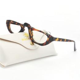 a420d8c7b53 mincl Small Vintage Rectangle Sunglasses Women Metal Decoration Half Frame  Brand Retro Hip Hop clear optical Glasses frames NX