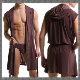 Wholesale men s silk pajama - HOT Men Robes Bathrobe Plus Size Brand Manview Robe Man Mens Sexy Sleepwear Male Silk Gay Home Wear Hoodie Sleep Lounge Pajama