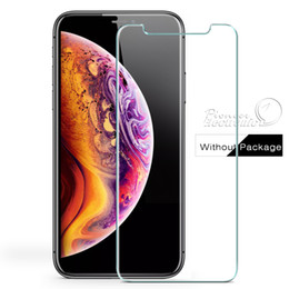 Disponible para 2018 NUEVO Iphone 7 8 X Protector de pantalla de tamaño de vidrio templado garantizado Anti-huella digital para Samsung Galaxy LG (Sin caja) desde fabricantes