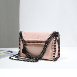 Wholesale Handmade Fabric Handbags - wholesale brand handbag and explosion matte pearl fabric woman personality Chain Bag Handmade custom pearlescent leather hand bag