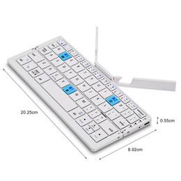 Складывающаяся клавиатура для android онлайн-О. Б. Ж HB199 Bluetooth для беспроводной складная клавиатура складной аккумуляторная клавиатура для iOS Android ОС Windows