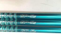 Wholesale golf shafts tour - 5PCS Tour AD GP-5 0.350 Tip Size Graphite Shaft S Flex Golf Graphite Shaft for Golf Woods EMS Free Shipping