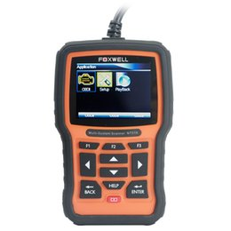 Wholesale Mazda Ford Key Programmer Scanner - [Xmas Big Sale] Foxwell NT510 Multi-System Scanner Support Multi-Languages Ship From US