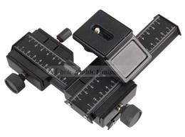 2019 mini transmisor de cámara DSLR Rig Camera Trípode Head Ajuste bidireccional Se adapta a la lente Macro inversa Accesorios de fotografía