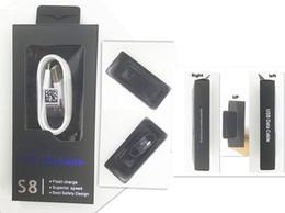 S8 Tipo c Cable de datos Caja de venta al por menor vacía S7 Mirco USB 1.2M Cable de sincronización Embalaje de papel original para Samsung S8 S7 USB Línea de cable de carga rápida desde fabricantes