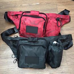NOIR RR Sac À Bandoulière Cross Body Ceinture Sac Pack Pack Poitrine Unisexe Fanny Pack Ceinture Sac Hommes Toile Étanche ? partir de fabricateur