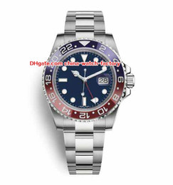 8 colores Topselling 2018 NUEVO estilo reloj 40 mm GMT 116719BLRO 116719 126710 116710 116713 126715CHNR Asia 2813 movimiento automático Relojes para hombre desde fabricantes