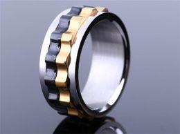 2019 anello portautensili in acciaio inossidabile Anello in acciaio inossidabile titanio anello anello in acciaio stile titanio all'ingrosso uomo partito anello in acciaio inox R216 anello portautensili in acciaio inossidabile economici