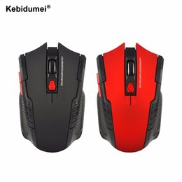 Wholesale used laptop pcs - Kebidumei 2.4Ghz Mice Optical Mouse Office Use Rolling USB Mouse Wireless Gaming Plug and Play for PC Laptop Computer