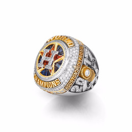 Wholesale fan rings - The Newest 2017 2018 Houston Astros World Baseball Championship Ring Altuve Fan Gift high quality wholesale Drop Shipping AAA+