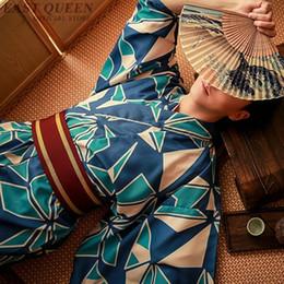 276b1a32521b japan clothing kimono Canada - Japan kimono men japanese samurai clothing  DD1114