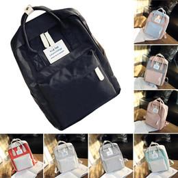 a50063a496bc Korean edition Outdoor Nylon Travel Bag Backpack Big Capacity Handbag For  Girls Schoolbag Female Women fashionable
