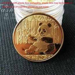 Wholesale Commemorative Coin Gift - Big Panda Baobao Commemorative Coins Collection Art Gift