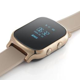 Ребенок gps-трекер часы браслет онлайн-T58 смарт-телефон часы GPS трекер Gsm GPS браслет персональный локатор для детей детей Eder взрослых с Google Map SOS смарт-часы
