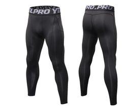 Canada Pantalon de compression pour homme GYM Fitness Athletic Sports Jogger Pants Designer Hommes Pantalones cheap athletic compression pants Offre