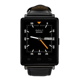 Wholesale 3g Remote - Very stylish Smartwatch D6 3G Phone Android 5.1 MTK6580 Quad Core 1.3GHz 1GB RAM 8GB ROM 1.63inch WiFi Bluetooth GPS smart watch
