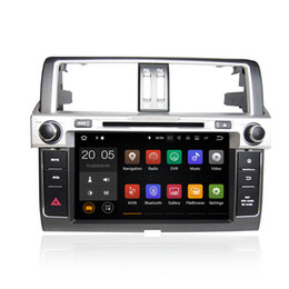 Wholesale toyota canbus - Android 6.0 7.1 4+32GB Car DVD Player GPS Navigation for TOYOTA PRADO 2014 with Radio BT USB AUX Camera Map Canbus