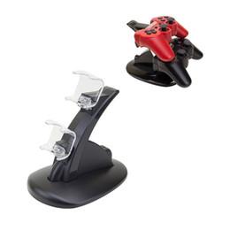 Soporte de carga rápida de doble estación de carga USB para el controlador de Sony PS4 desde fabricantes