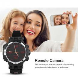 jugar relojes Rebajas Reloj inteligente Bluetooth Reproducción de mensajes de llamadas telefónicas Recordatorio de sueño Reloj anti-pérdida de memoria 8GB Impermeable Podómetro