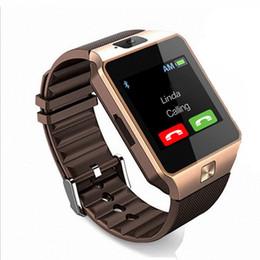Mejor android smartwatch online-DZ09 Smart Watch Sport Android Wear Watch Barato Best Waterproof Smartwatch Android Bluetooth Phone Watch con cámara