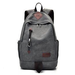 Canvas Backpac2017 New School Bags For Teenagers Men Women Vintage Laptop  Travel Backpack Bookbags Sac a Dos Femme Eastpack cheap japan women backpack  bags da08311185212