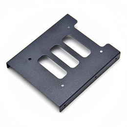 Wholesale Hdd Mounts - Useful 2.5 Inch SSD HDD To 3.5 Inch Metal Mounting Adapter Bracket Dock Hard Drive Holder For PC