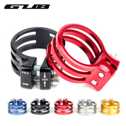 Wholesale bike aluminum frame - GUB Bicycle Seat Post Clamp Aluminum Mountain Bike Seatpost Clamps Cycling Clamping Carbon Frame 31.8 34.9 37mm