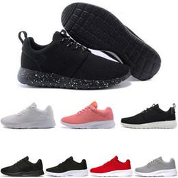 2019 sapato preto nike air roshe run Sapatos de corrida clássico 3 TANJUN preto  branco homens 6c21e2dbbe