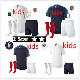 18 nouvelles écussons de champion Maillot de Foot enfant 2018 football français pas cher enfants 2 étoiles etoiles ? partir de fabricateur