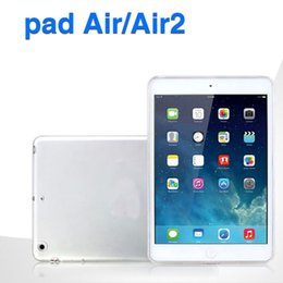 Discount transparent case for ipad air - Soft TPU Cover for Pad pro 9.7 2017 Transparent Slim Clear Cover for PAD 2 3 4 air mini 4 PCC063