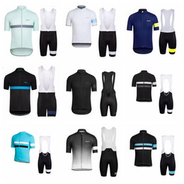 New RAPHA team 2018 Cycling Short Sleeves jersey bib shorts set High  Quality summer Bike Wear Quick Dry Bicycle Clothing K10903 702b502cf