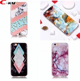 Canada Étui souple en TPU IMD pour fleurs en marbre peint pour Iphone X XS MAX XR Plus cheap iphone 5c case tpu flower Offre
