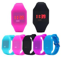 Argentina Casual niños de goma relojes niños silicona LED reloj bebé deportes pulsera relojes digitales para niñas Boy reloj Suministro