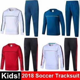 Wholesale Boys Yellow Sweater - Camisetas Maillot de foot AC Milan tracksuit sweater jogging suit survetement training suit chandal Dybala Buffon MARCHISIO jersey 2018
