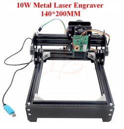 Wholesale Engraving Metal Cnc - DIY laser engraving machine 14*20cm metal engraver marking machine metal carving cnc 10W