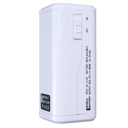 2019 alimentation du chargeur de batterie électrique externe BRICOLAGE Mobile Power Bank Case NO.5 AA USB externe Chargeur de batterie Box urgence LED Light Supply Universal pour les téléphones mobiles promotion alimentation du chargeur de batterie électrique externe