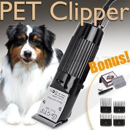 Wholesale Electric Pet Dog Hair Clipper - Professional Pet Dog Hair Trimmer Animal Grooming Clippers Cat Cutter Machine Shaver Electric Scissor Clipper 110-240V Line length 295cm.